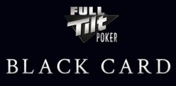 black card full tilt poker