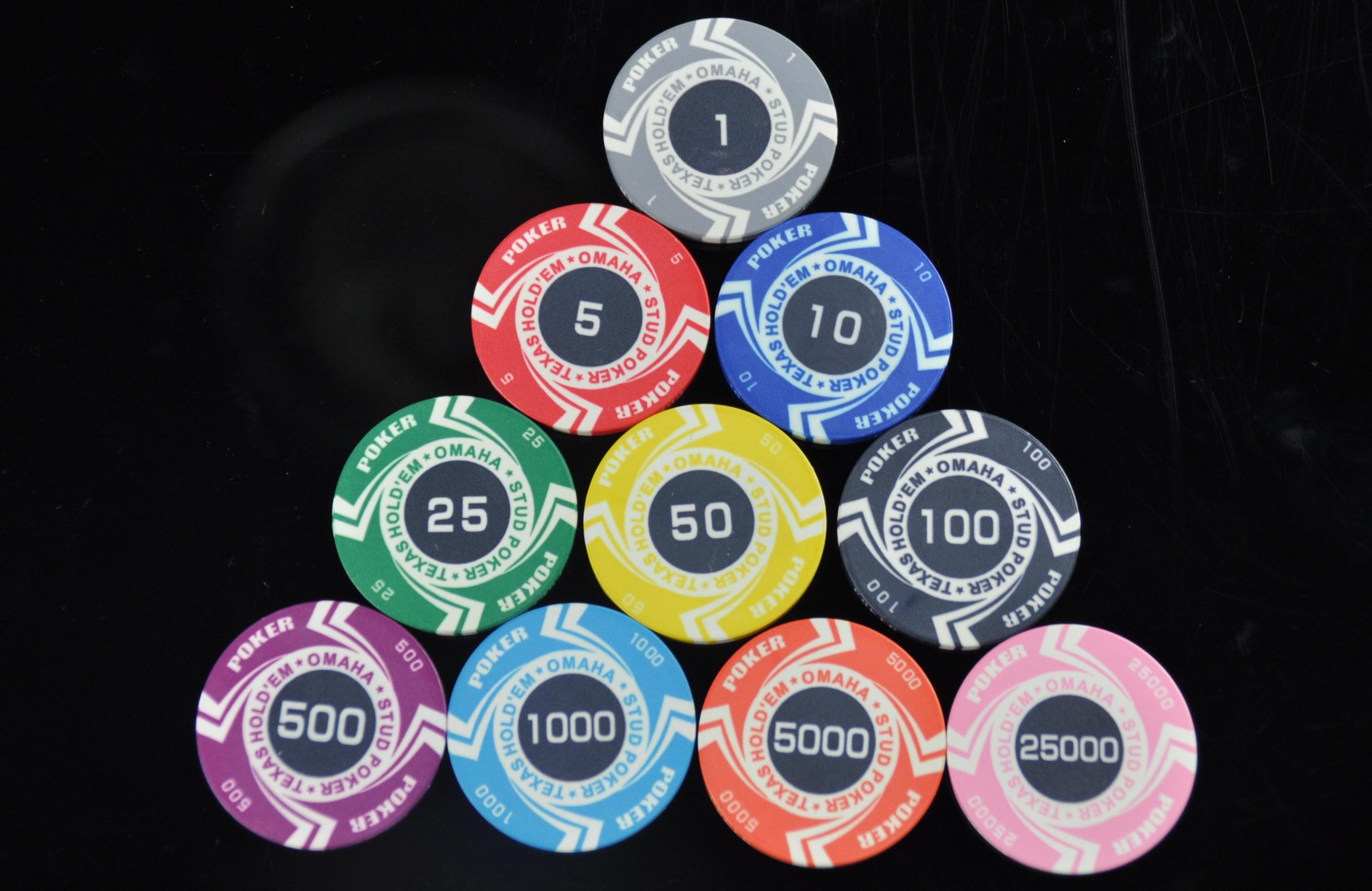 Как сделать фишки покер