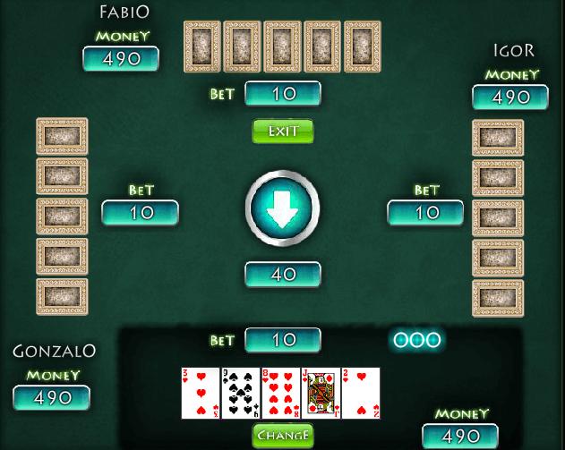 онлайн бесплатно покер классический играть